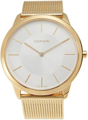 Calvin Klein K3M2T526 Gold-Tone Watch