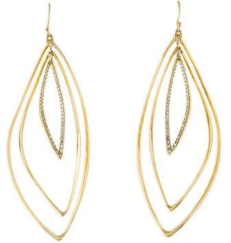 Alexis Bittar 18K Diamond Drop Earrings