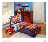 Disney Cars Go Team 4-Piece Toddler Bedding Set 085214089416 by