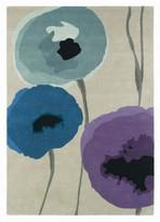 Sanderson Rugs Poppies Indigo Purple Rug