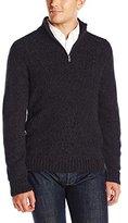 Axist Men's Quarter-Zip Long-Sleeve Sweater