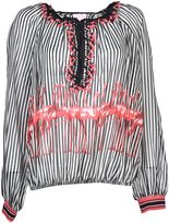 Giamba Striped Blouse