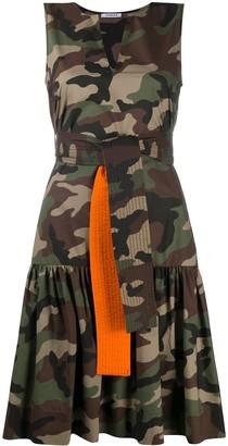 P.A.R.O.S.H. Cravd tie-wait dress
