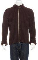 Ann Demeulemeester Wool & Yak Rib-Knit Sweater