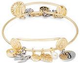 RJ Graziano J Initial Charm Bracelet