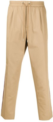 Moncler Stripe Detail Drawstring-Waist Trousers