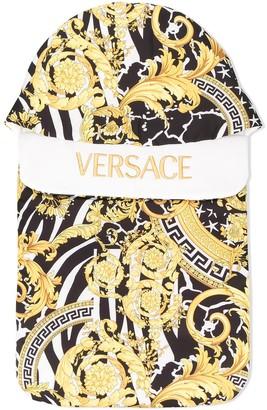 Versace baroque print sleep bag