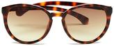 Calvin Klein Jeans Women's Round Sunglasses Warm Tortoise