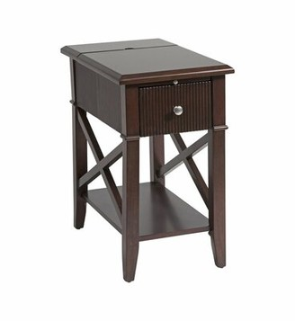 Red Barrel Studio Lachine End Table with Storage Red Barrel Studio
