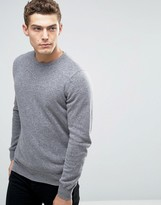 Benetton 100% Merino Wool Crew Neck Sweater