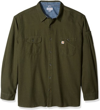 Carhartt Men's Big & Tall Beartooth Solid Long Sleeve Shirt