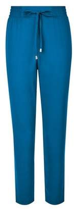 Dorothy Perkins Womens Teal Blue Joggers, Blue
