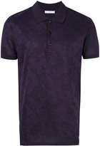 Versace paisley patterned polo shirt - men - Cotton - XL