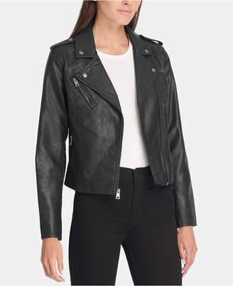 Levi's Women Faux-Leather Moto Jacket