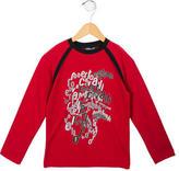 Roberto Cavalli Printed Crew Neck Shirt w/ Tags