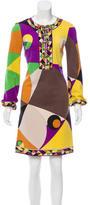 Emilio Pucci Wool Sheath Dress