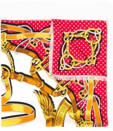 Moschino print scarf