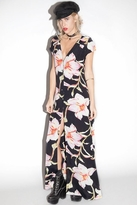 Flynn Skye Eterie Maxi Dress in Midnight Lily