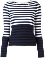 Sonia Rykiel striped jumper - women - Cotton/Polyester - S