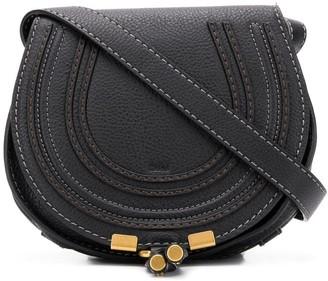 Chloé Small Marcie Cross-body Bag Black