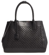 Louise et Cie Eiris Calfskin Leather Satchel - Black