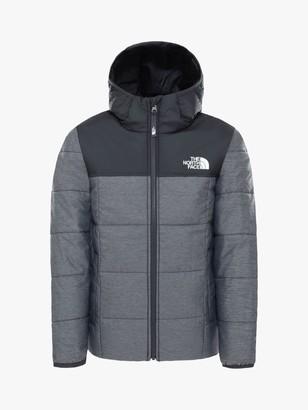 The North Face Boys' Reverse Perrito Jacket, Grey