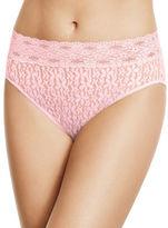 Wacoal Halo Lace Hi-Cut Bikini Bottom