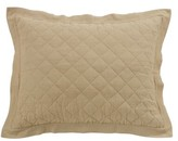 Leighty Quilted Sham Alcott Hill Size: Euro, Color: Brown