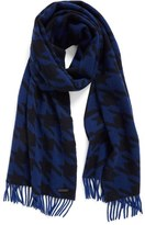 Ted Baker Men's Harris Houndstooth Cashmere Scarf