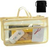 Gleader Transparent Bag in Bag Insert Comestic Gadget Purse
