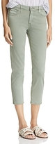AG Jeans Mid Rise Cigarette Crop Jeans in Sulfur Silver Sage - 100% Exclusive