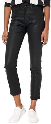 Joe's Jeans Luna Ankle Coated in Black (Black) Women's Jeans