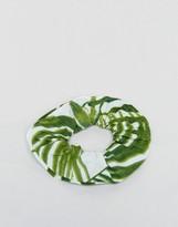 Asos Tropical Print Scrunchie