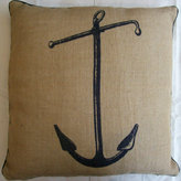 Anchor Jute Pillow