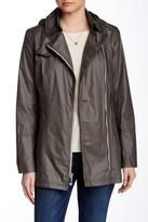 Vince Camuto Asymmetrical Zip Front Trench