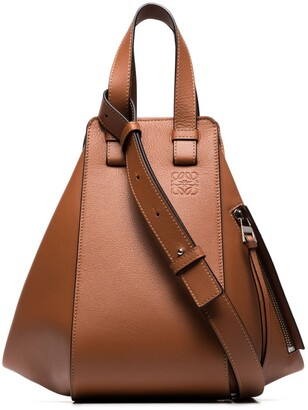Loewe Hammock leather tote bag