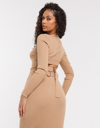 4th & Reckless top set in camel