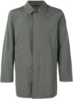 Fay button-down coat - men - Polyamide/Polyester - S