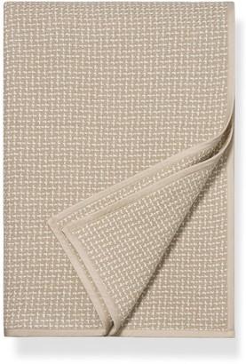 Boll & Branch Pickstitch Organic Cotton Blanket