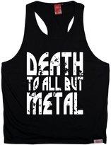 Banned BM Premium - Men's Death To All But Metal (L/XL - ) TANK TOP