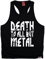 Banned BM Premium - Men's Death To All But Metal (S/M - ) TANK TOP