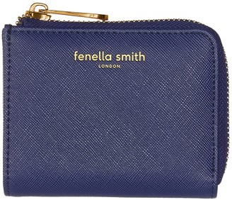 Fenella Smith Navy Blue Vegan Leather Small Purse