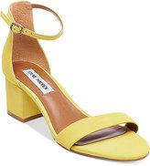 Steve Madden Women's Irenee Two-Piece Block-Heel Sandals