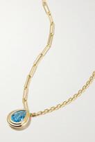 Thumbnail for your product : Yvonne Léon 18-karat Gold Topaz Necklace - one size