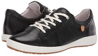 Josef Seibel Caren 01 (Black) Women's Lace up casual Shoes