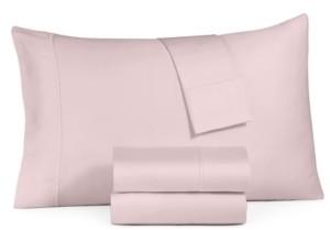 Sunham Haven Cotton 350-Thread Count 4-Pc. King Sheet Set Bedding