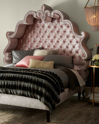 Haute House Maria Tufted California King Bed