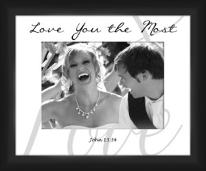 PTM Images Living 31Love You the Most decorative Photo Frame