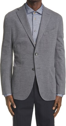 Boglioli K Cotton & Wool Pique Sport Coat