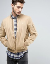 Jack Wills Rame Bomber Jacket in Sand